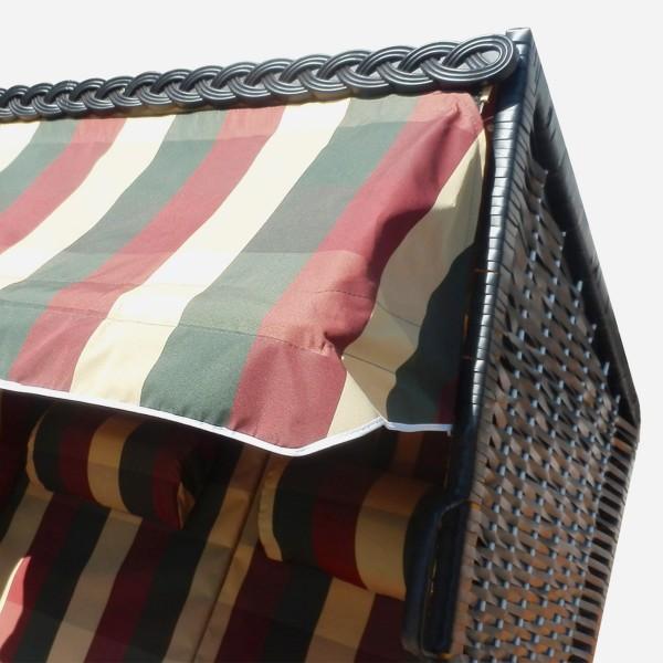verstellbares Vordach als Sonnen-, Wind- und Regenschutz