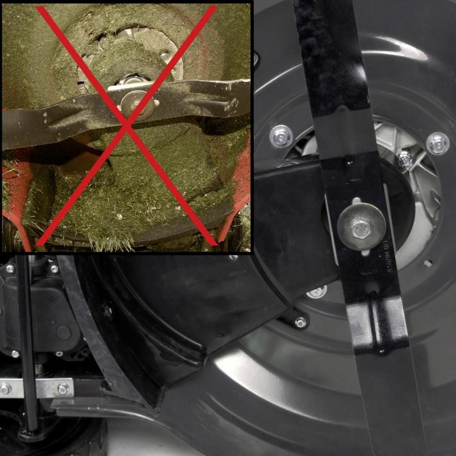 EASY CLEAN: Immer sauberer Unterboden statt mühsames Entfernen alter Grasreste von Hand
