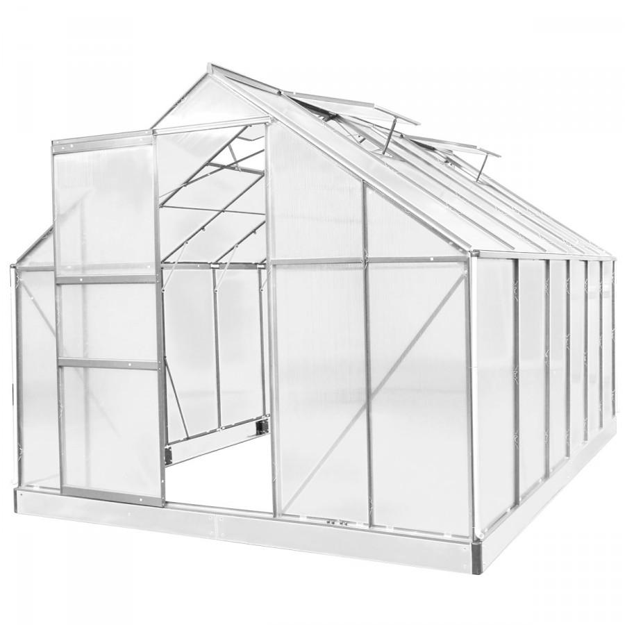 Aluminium-Gewächshaus 07 380x250x205