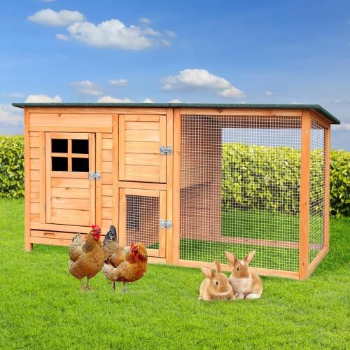 """Hühner- und Hasenstall """"PREMIUM"""""""
