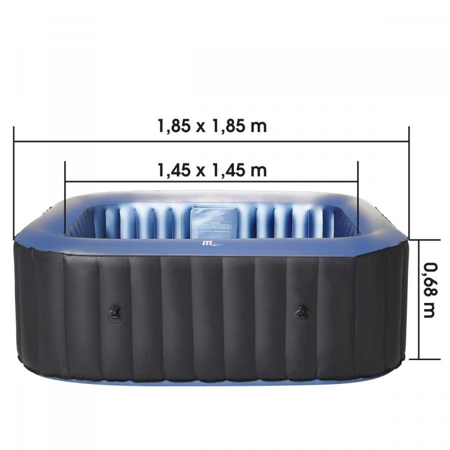 Technische Daten - Maße Tekapo Comfort für 6 Personen