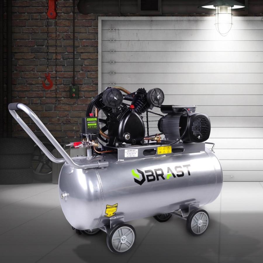 BRAST Druckluftkompressor 100L