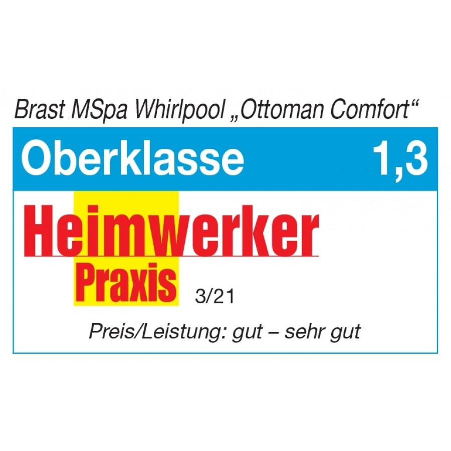 Heimwerker Praxis Test 1,3 Oberklasse Ottoman Comfort