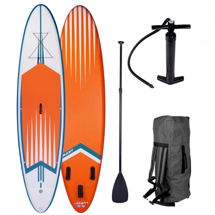 "SUP Board aufblasbar ""PRO"" 320 orange"