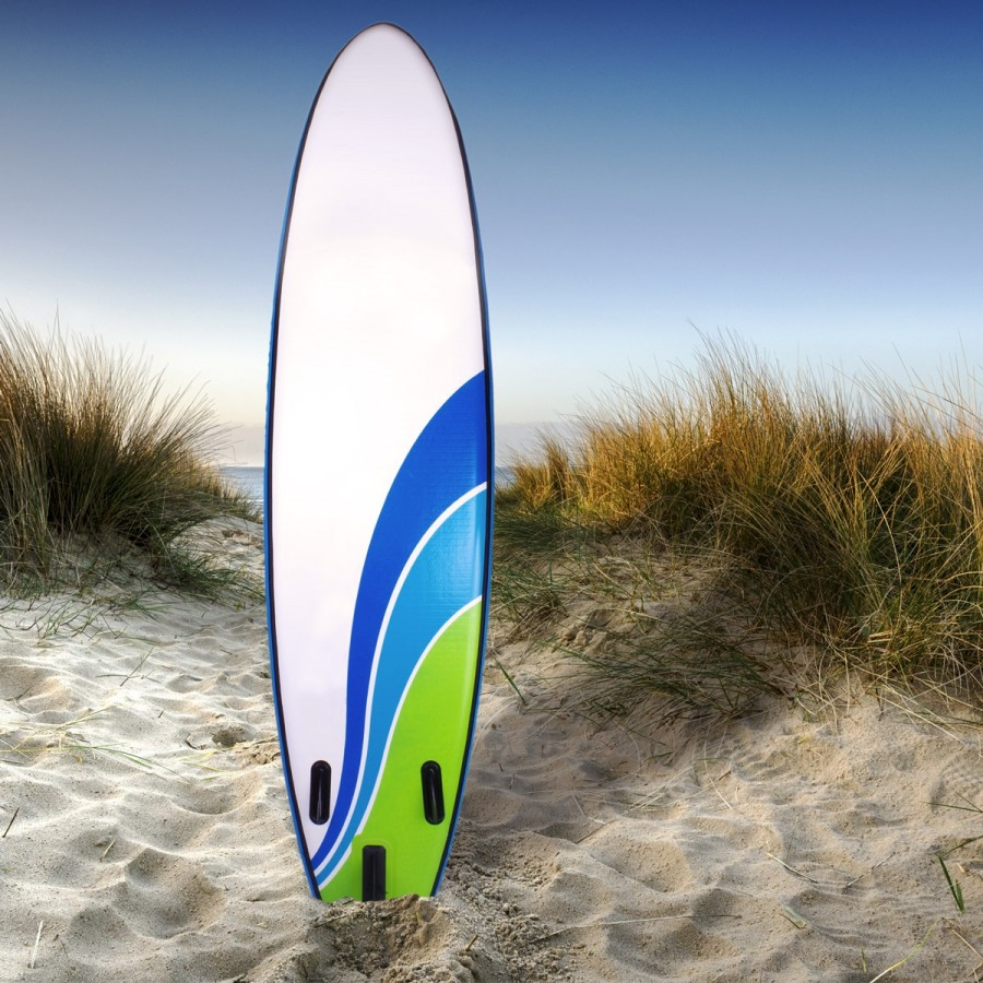 Farbstarkes Wave-Design auch auf der Rückseite