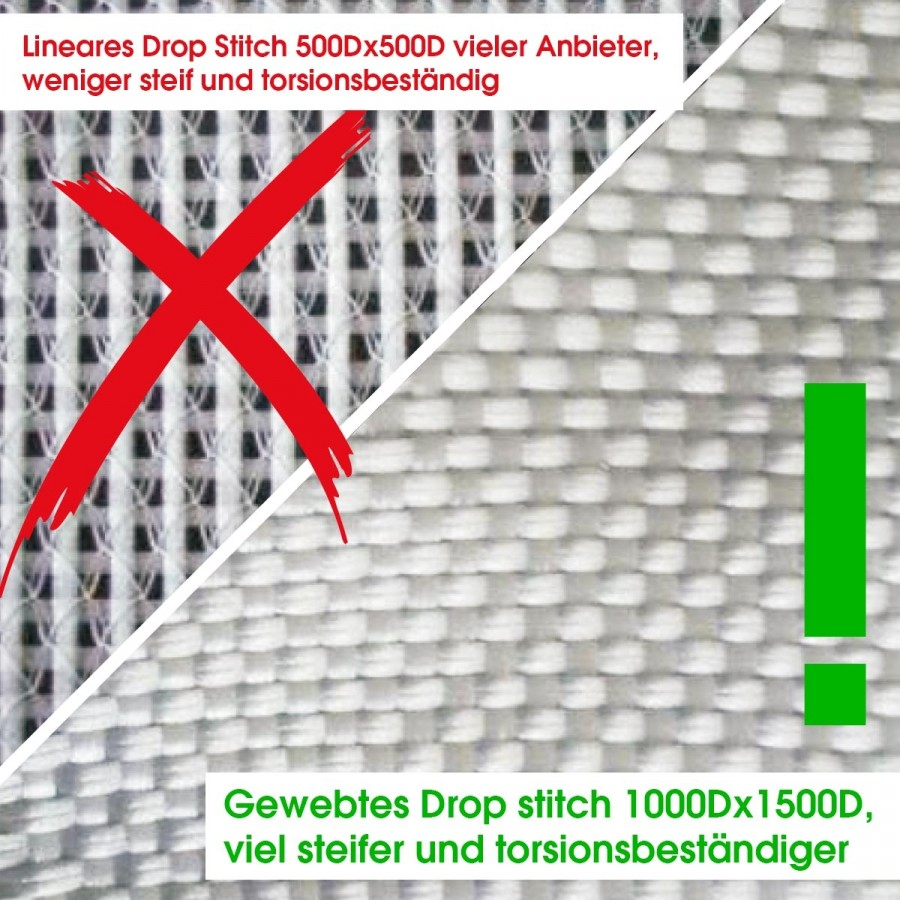 gewebter Drop Stitch