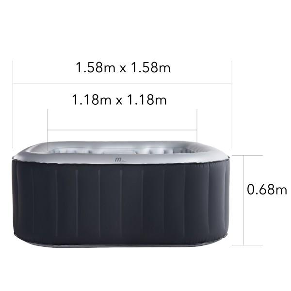 quadratische Form ideal auch für schwierige Platzverhältnisse