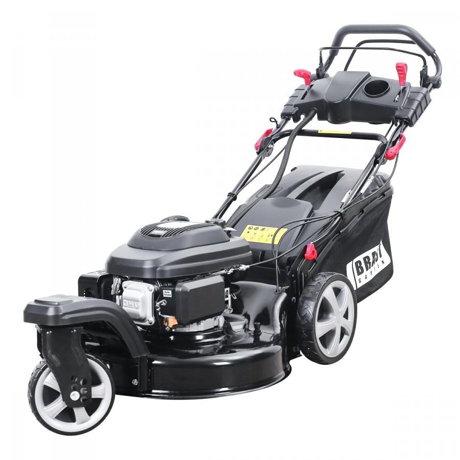 BRAST Benzin Rasenmäher 21196 Trike ESTART