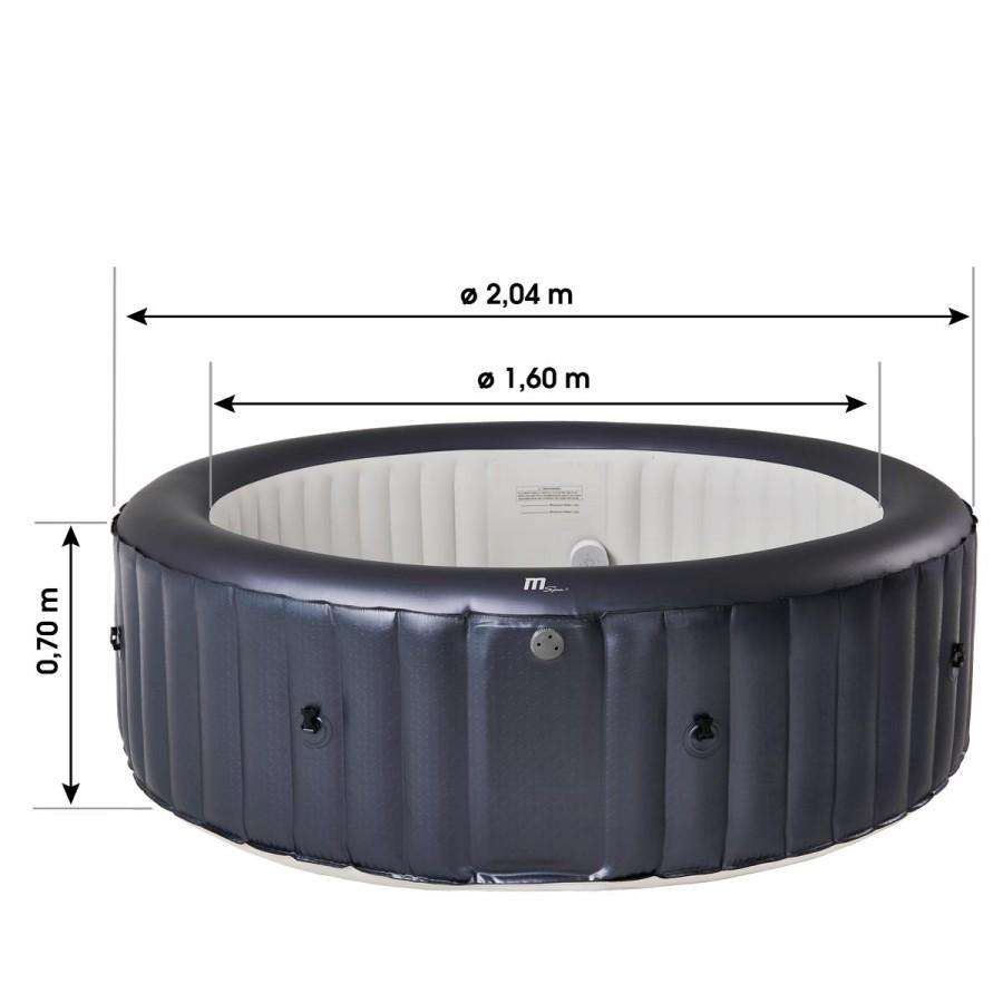 MSpa Whirlpool Carlton Maße