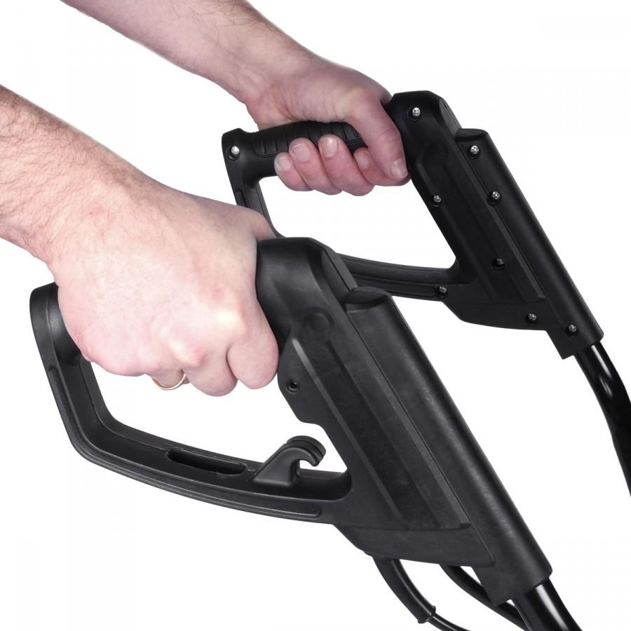 praktische Bike-Griffe mit Sicherheitsschalter für komfortables Arbeiten