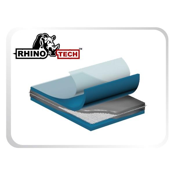 besonders widerstandsfähige Materialtechnologie mit 6-Schicht-PVC-Gewebe