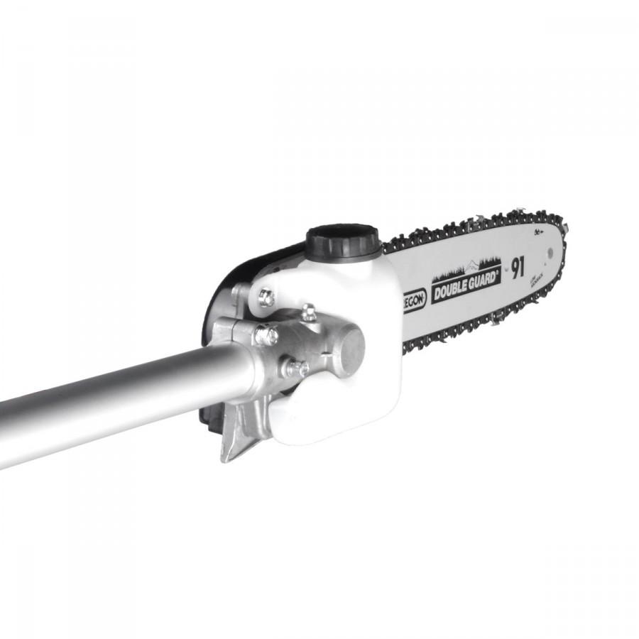 Kettensägen-Aufsatz mit OREGON Marken-Kette und -Schwert