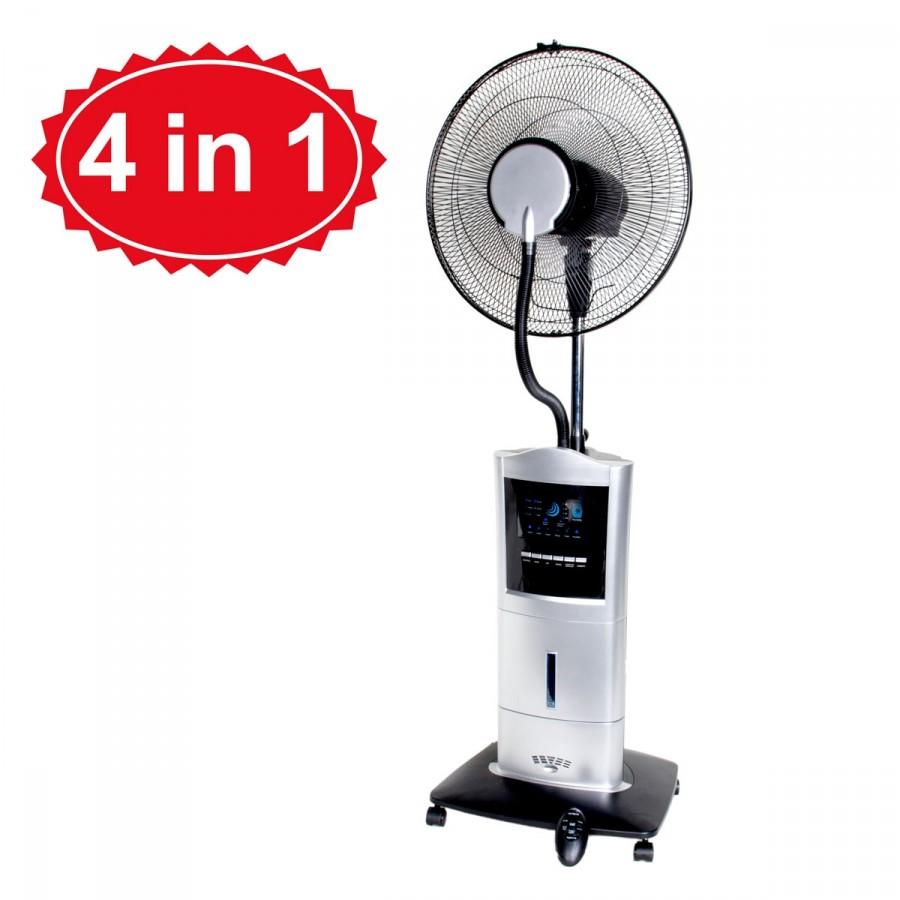 4in1 Funktion: Ventilator, Luftbefeuchter, Ionisator, Mückenvertreiber