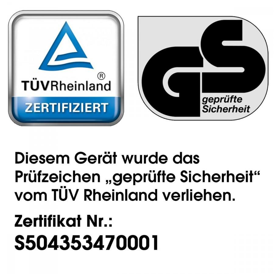 TÜV-geprüfte Markenware