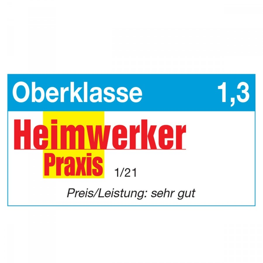 Heimwerker Praxis Testergebnis Oberklasse für BRAST