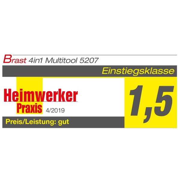 BRAST Benzin 4in1plus Motorsense 5207