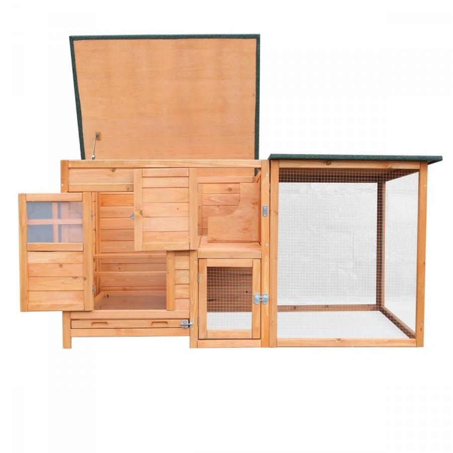3 Türen und aufklappbares Dach