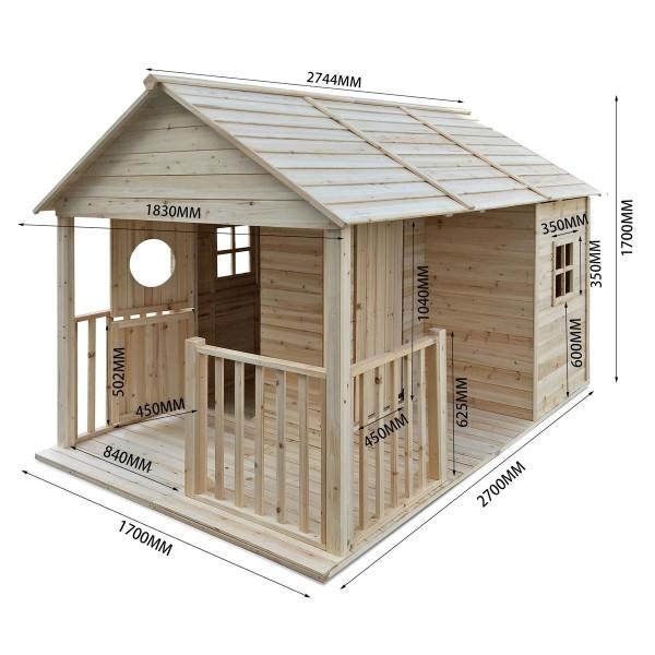 Spielhaus Holz Garten \