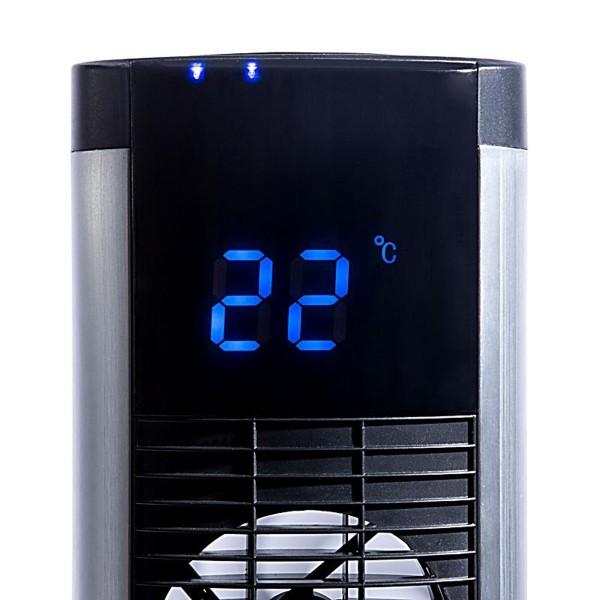 Anzeige der Raumtemperatur im LED-Display