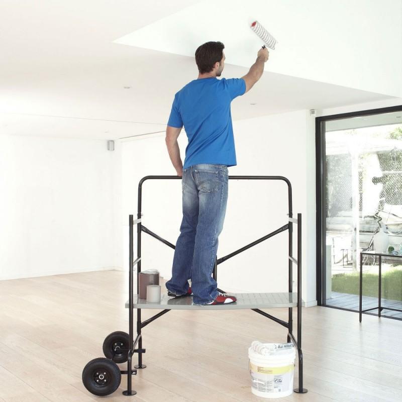 ideal auch für Indoor-Renovierungsarbeiten