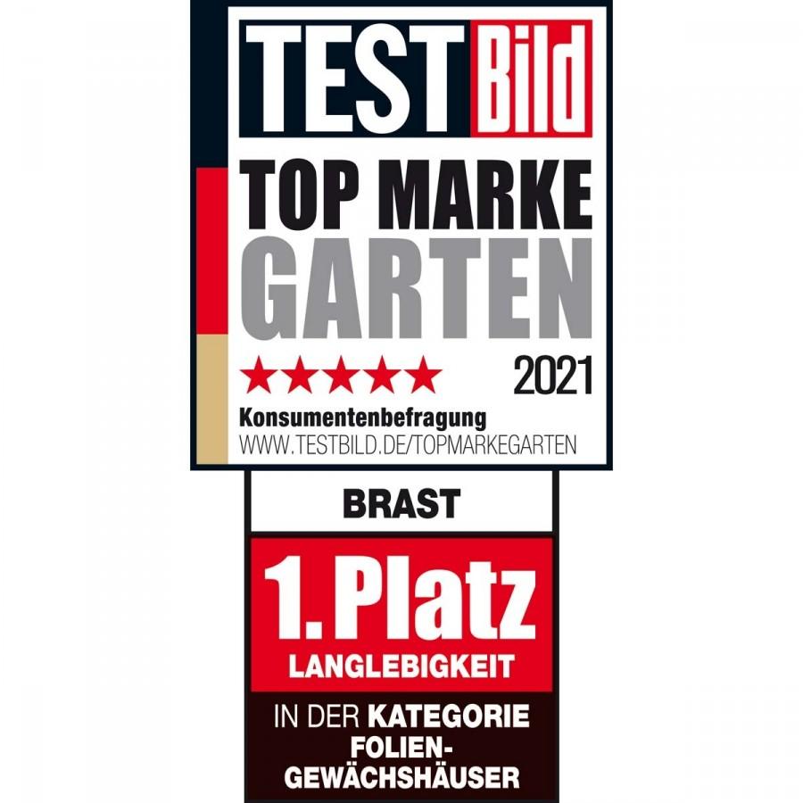 BRAST Top Marke Kategorie Folien-Gewächshäuser