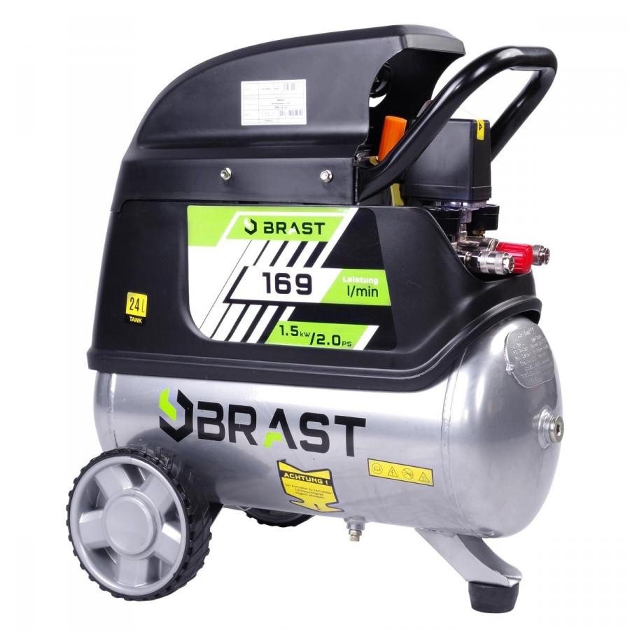 BRAST Druckluftkompressor 24L inkl. Zubehör
