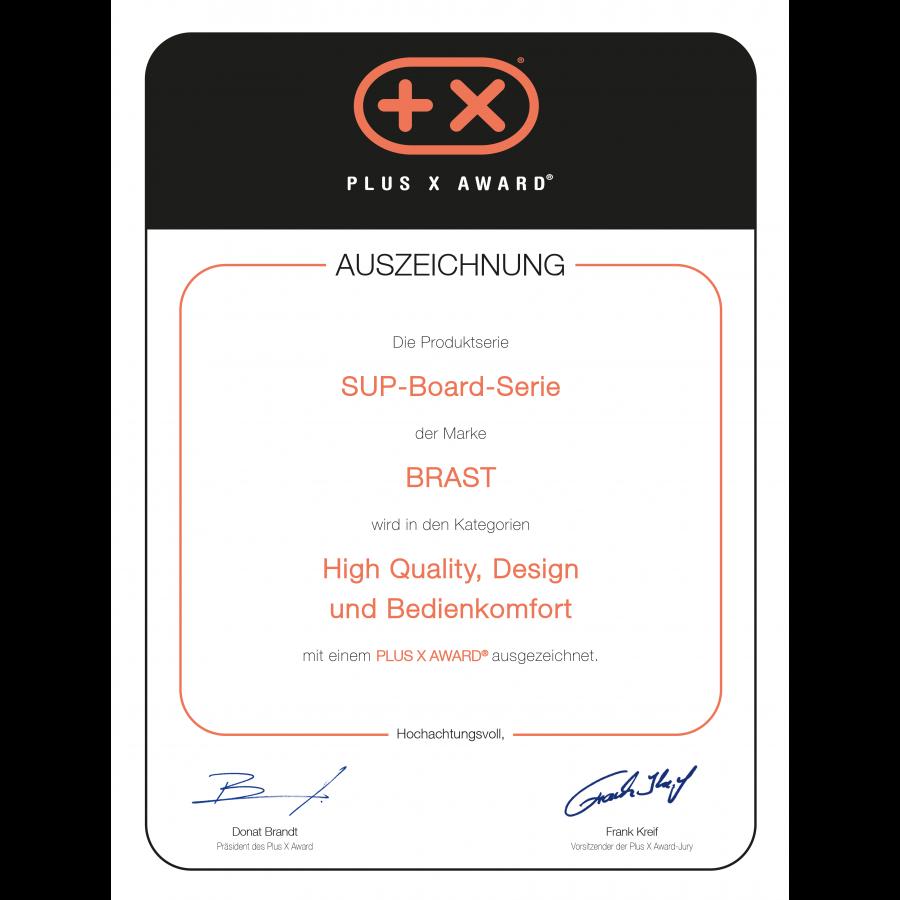 PLUS-X-AWARD Auszeichnung 2021