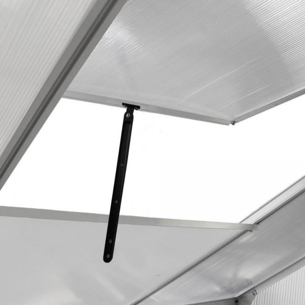 6 Lüftungs-Fenster, für beste Luftzirkulation höhenverstellbar