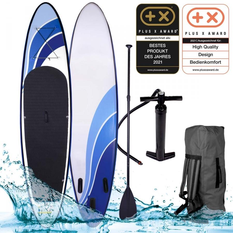 SUP Board aufblasbar GLIDER 300 X-AWARD ausgezeichnet
