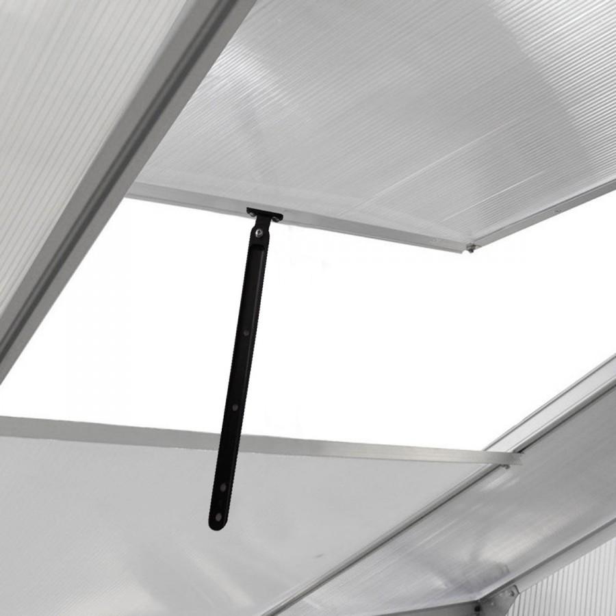 4 Lüftungs-Fenster, für beste Luftzirkulation höhenverstellbar