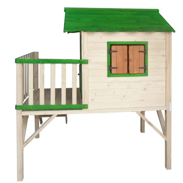 """Spielhaus """"Adventure"""" mit Balkon"""