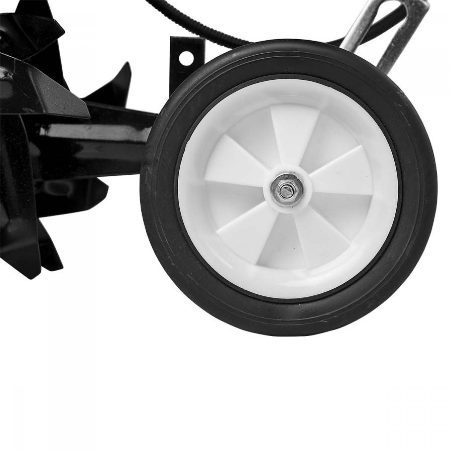 2 klappbare Transporträder für einfaches Fahren zum Einsatzort