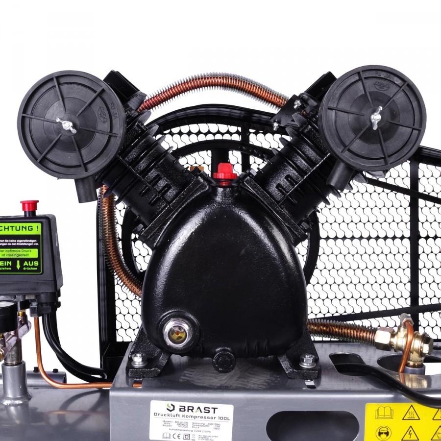 keilriemgesteuerter 2-Zylinder V-Aggregat-Moto