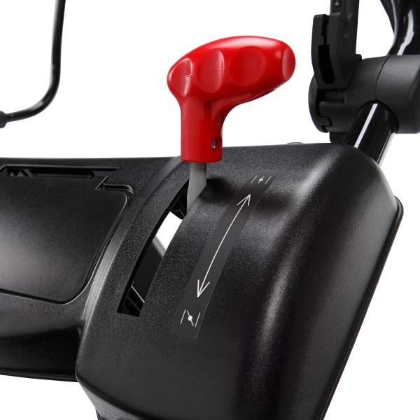 dank Motordrehzahlregler und Primer-Kraftstoffpumpe sehr gute Starteigenschaften