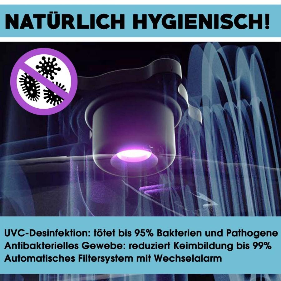 UVC-Generator zur Wasserdesinfektion