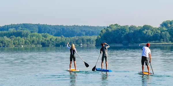 SUP Tour im Sommer