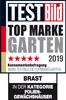 Testergebnis Auszeichnung TESTBILD Top Marke Garten Gewächshäuser
