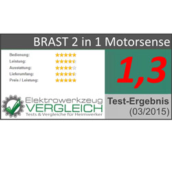 Motorsense Test Sieger
